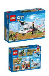 LEGO CITY AVION MEDI Ref. 60116LG