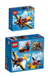 LEGO CITY AVION CARR Ref. 60144LG